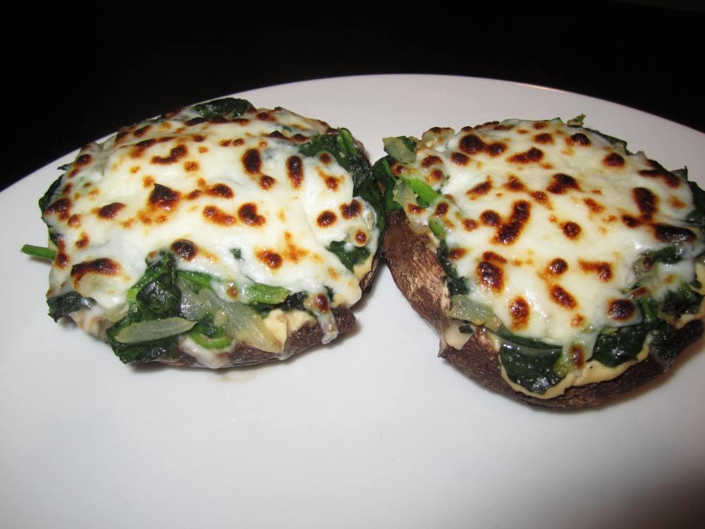 Portabella Hummus Melts (4/5)
