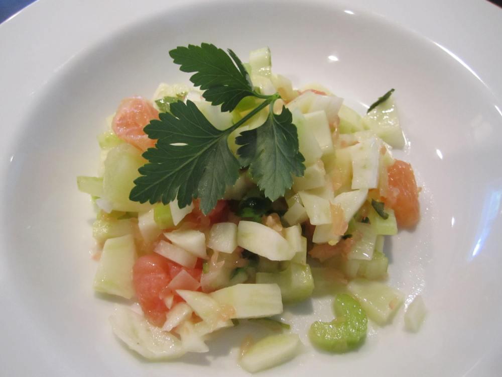 Fennel, Grapefruit and Parmesan Salad (1/2)