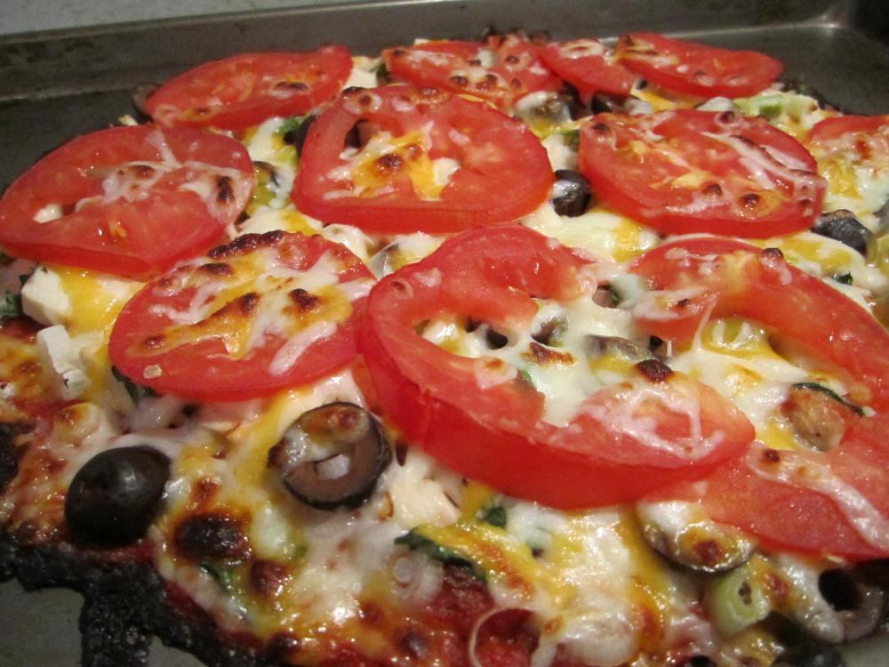 Cauliflower Pizza Crust (1/2)
