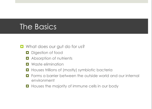 Our gut has many functions. Changes in the balance of bacteria, leaky gut, bacterial overgrowth and other factors may affect how your GI system works. This may have systemic consequences.